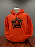 Jeeps Are Life - Star Logo Hoodie - Orange - Large