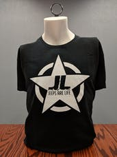 Jeeps Are Life - Star Logo T-Shirt - Black - 3XL