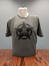 Jeeps Are Life - Star Logo T-Shirt - Charcoal - XL