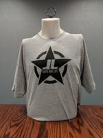Jeeps Are Life - Star Logo T-Shirt - Sport Gray - XL