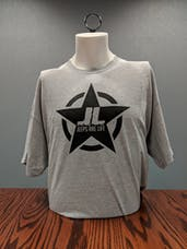 Jeeps Are Life - Star Logo T-Shirt - Sport Gray - Medium
