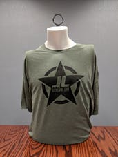 Jeeps Are Life - Star Logo T-Shirt - Hunter Military Green - M