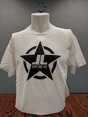Jeeps Are Life - Star Logo T-Shirt - White - LARGE