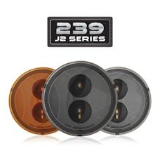 """JW Speaker 346483 - LED Jeep Turn Signals – Model 239 J2 Series 3.5"""" Round LED Jeep Turn Signals"""