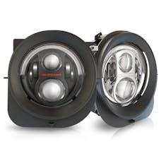 "JW Speaker 553623 - LED Headlights – Model 8700 Evolution 2R 7"" Round Jeep Renegade LED Headlights"