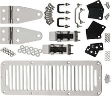 Kentrol  30570 Hood Kit (with TJ Style Hood Catch)