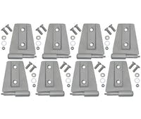 Kentrol  40576 Door Hinge Set (8 pieces) (4 Door)