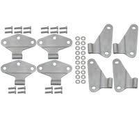 Kentrol  40581 Body Door Hinge Set (8 pieces) (4 Door)