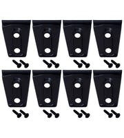Kentrol  80021 Door Hinge Overlays (8 pieces) (4 Door)