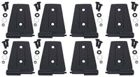Kentrol  80576 Door Hinge Set (8 pieces) (4 Door)