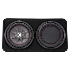 "KICKER 43TCWRT102 - CompRT 10"" Subwoofer in Thin Profile Enclosure, 2 Ohm, 400W"