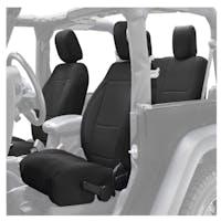 King 4WD 11010101 Jeep Wrangler JK Neoprene Seat Cover