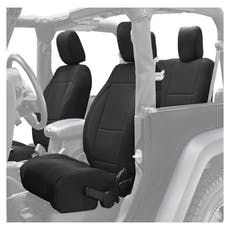 King 4WD 11010101 Jeep Wrangler JK Neoprene Seat Cover