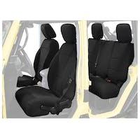 King 4WD 11010201 Jeep Wrangler Unlimited JKU Neoprene Seat Cover