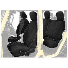King 4WD 11010201 Jeep Wrangler Unlimited JKU Neoprene Seat Cover