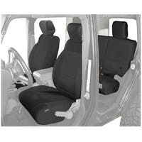 King 4WD 11010401 Jeep Wrangler JKU Neoprene Seat Cover