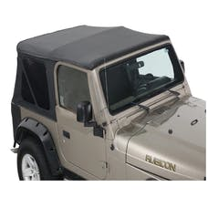 King 4WD 14010235 Jeep Wrangler TJ Premium Replacement Soft Top Without Upper Doors