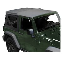 King 4WD 14010335 Replacement Soft Top - Black Diamond