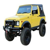 King 4WD 14011035 Replacement Soft Top - Black Diamond