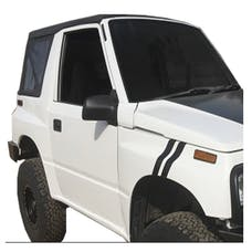King 4WD 14011135 Replacement Soft Top - Black Diamond