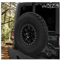 King 4WD 17050101 Baumer Heavy Duty Tire Carrier