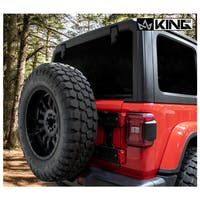 King 4WD 17050301 Baumer Heavy Duty Tire Carrier