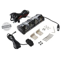Overland Vehicle Systems 15010101 - EKO 10in LED Light Bar With Variable Beam, DRL,RGB Back Light, 6 Brightness