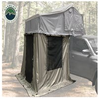 Overland Vehicle Systems 18029836 Nomadic 2 Annex - Green Base With Black Floor & Travel Cover