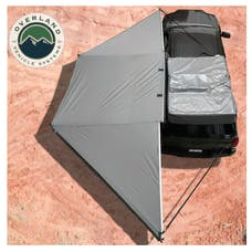 Overland Vehicle Systems 18069909 Nomadic Awning 180 Only With Dark Gray & Black Travel Cover - No Brackets