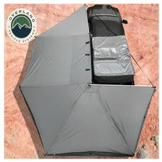 Overland Vehicle Systems 18079909 Nomadic Awning 270 Only, Dark Gray & Black Travel Cover, DriverSide, No Brackets