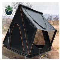 Overland Vehicle Systems 18109901 Mamba III Aluminum Roof Top Tent -Black Shell & Black Body 3 Person Large