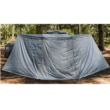 Overland Vehicle Systems 18159909 Nomadic Awning 180 - Side Wall - Dark Gray With Storage Bag