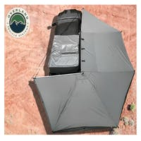 Overland Vehicle Systems 19529907 Nomadic Awning 270 Dark Gray Cover, Black Transit Cover Passenger Side & Bracket