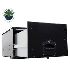 Overland Vehicle Systems 21010301 Cargo Box With Slide Out Drawer Size - Black Powder Coat