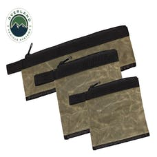 Overland Vehicle Systems 21059941 Medium Bags - 3 Individual #12 Waxed Canvas