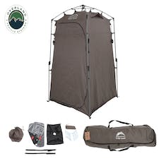 Overland Vehicle Systems 26019910 Wild Land Camping Gear - Changing Room With Shower and Storage Bag
