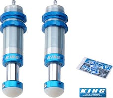 King Shocks 20001-150 - Front Hydraulic Bump Stops for 07-18 Jeep Wrangler JK