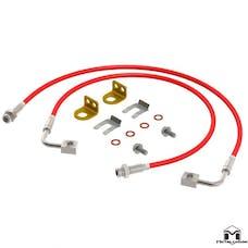 MetalCloak 1106 - JK Wrangler Replacement Brake Lines, Pair 26.5in