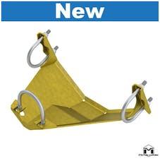 MetalCloak 3373 - JK Wrangler Rear Dana 44 Differential Skid Plate (DSP)
