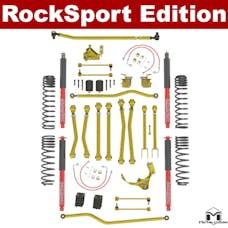 MetalCloak - 7113 -JK Wrangler 4.5 inch Game Changer Hi Steer Suspension System, RockSport Edition