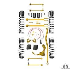 MetalCloak - 7115 -JK Wrangler True Dual-Rate Lift Kit, 2.5 inch/3.5 inch