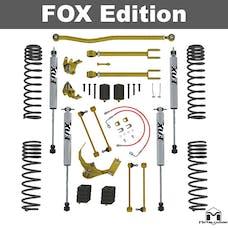 MetalCloak - 7120 -JK Wrangler True Dual-Rate Lift Kit, 2.5 inch/3.5 inch, Fox Edition