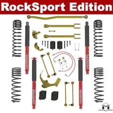 MetalCloak - 7127 -JK Wrangler True Dual-Rate Lift Kit, 2.5in-3.5in, RockSport Edition