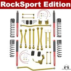 MetalCloak - 7131 -JK Wrangler Game-Changer Suspension, 2.5in-3.5in, RockSport Edition
