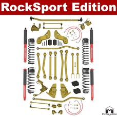 """MetalCloak - 7138 -JK Wrangler """"Bolt-On 5.5"""" Game Changer Suspension Kit, RockSport LT Shock Edition"""