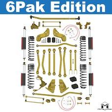 """MetalCloak - 7139 -JK Wrangler Game-Changer Suspension 5.5"""" Bolt-On, Hi-Steer, 6Pak Edition"""