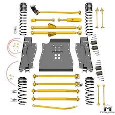 MetalCloak - 7140 -TJ Lock-N-Load Long-Arm Suspension System, 4.5 inch/6 inch