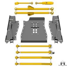MetalCloak - 7141 -TJ Lock-N-Load Long-Arm Upgrade Kit