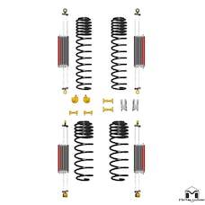 MetalCloak - 7150 -TJ/LJ Wrangler 6Pak Upgrade for Long Arms, 6 inch