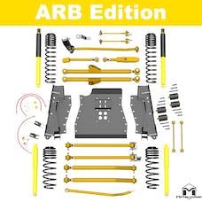 MetalCloak - 7171 -TJ Lock-N-Load Long-Arm Suspension System, ARB Edition, 4.5 inch/6 inch